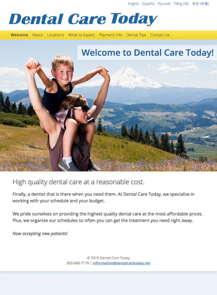 dental care today
